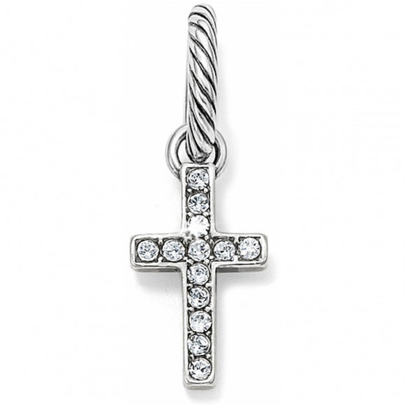 Starry Night Cross Charm