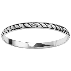 Southwest Dream Plaza Flat Rope Bangle