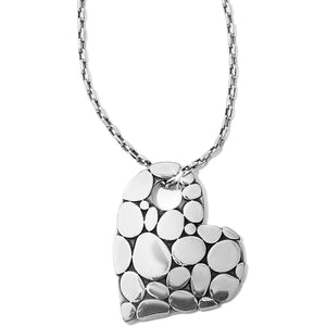 Pebble Heart Necklace