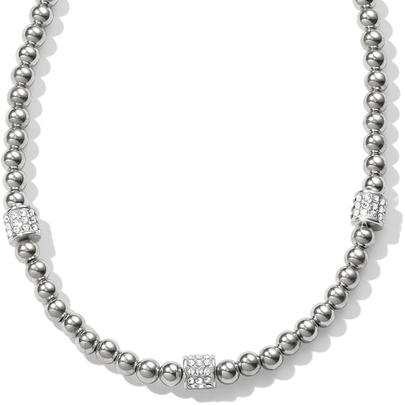 Meridian Petite Beads Station Necklace