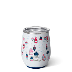 Swig + Scout Stemless Wine with Design (assorted)