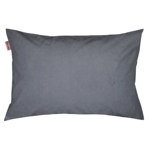 Towel Pillow Cover Charcoal
