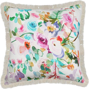 'Mrs Darcy' Unicorn Floral Cushion