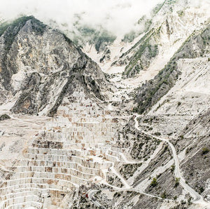 The Marble Quarries of Carrara - Article from Scientific American