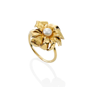 Magnolia Ring - GOLD VERMEIL