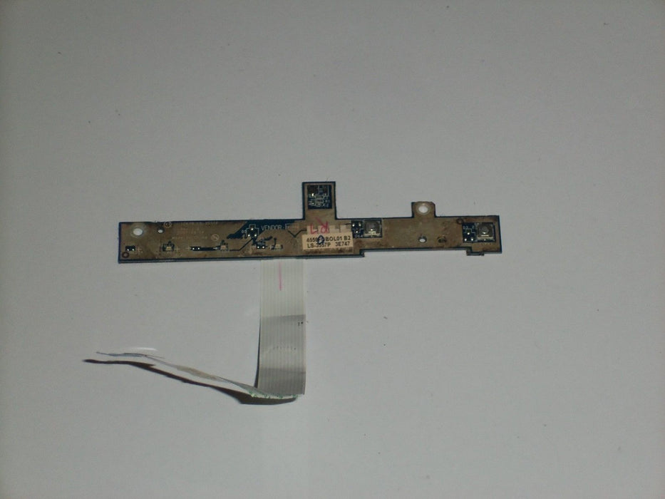 Acer Aspire 5520 LED Media Button Board W/ Cable LS-3557P