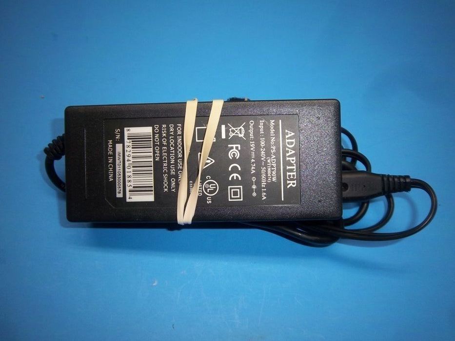Toshiba 19V Replacement AC Adapter PS-ADPT90W