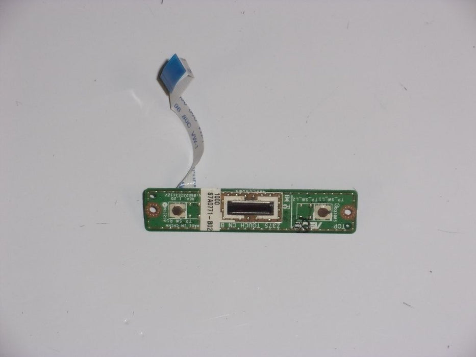 Asus C90S Fingerprint Reader Board w/Cable 08G23ZE3112V