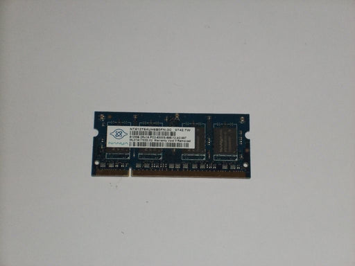 Nanya 512 MB PC2-5300 DDR2-667 667MHz Laptop Memory Ram NT512T64UH8B0FN-3C