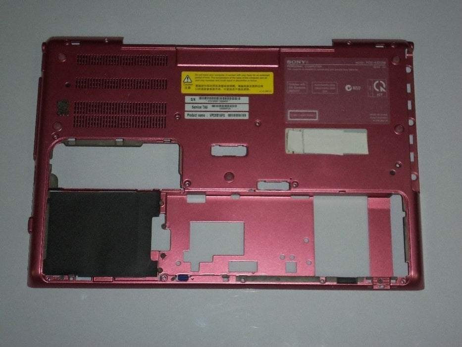 Sony VAIO VPCSB Series Laptop Bottom Case Pink 024-400A-8516-A