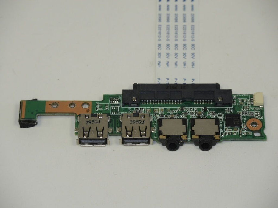 Asus Eee PC 1001P Audio Jack USB Board w/Cable 60-OA1LIO1000-A03 69NA1LB10A03-01