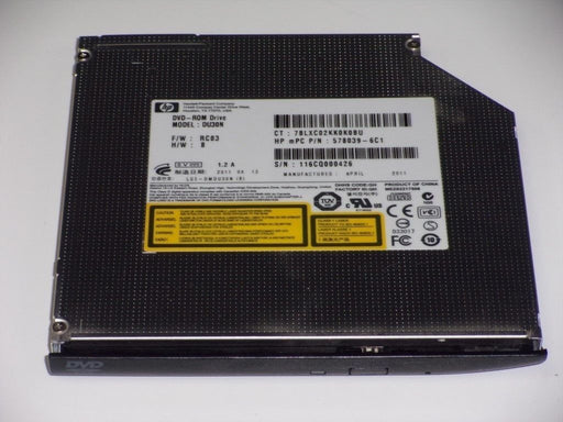 HP EliteBook 2540p SATA DVD-ROM Drive DU30N 598775-001