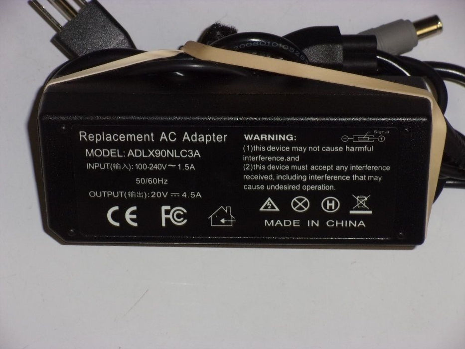 Lenovo 20V Replacement Laptop AC Adapter ADLX90NLC3A