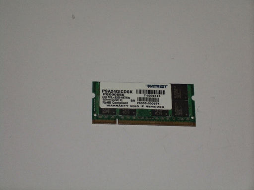 Patriot 2 GB PC2-5300 DDR2-667 667 MHz Memory RAM PSA24GICDSK