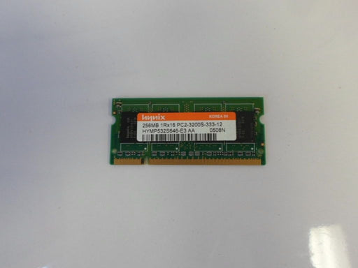 Hynix 256 MB PC2-3200 DDR2-400 400MHz Laptop Memory Ram HYMP532S646-E3