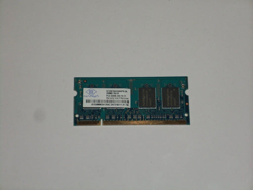 Nanya 256 MB PC2-3200 DDR2-400 400MHz Laptop Memory Ram NT256T64UH4A0FN-5A