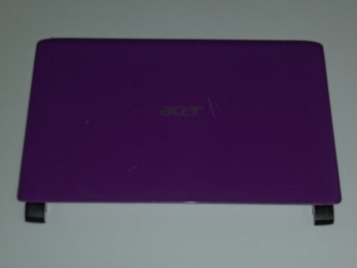 "Acer Aspire One 532H LCD Back Cover Lid 10.1"" Purple AP0AE000191 ""B"""
