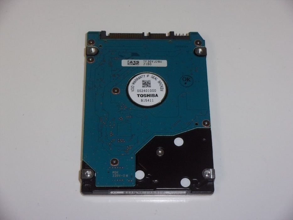 "Toshiba 2.5"" SATA 250 GB 7200 RPM HDD Laptop Hard Drive HDD2E94 MK2561GSYF"