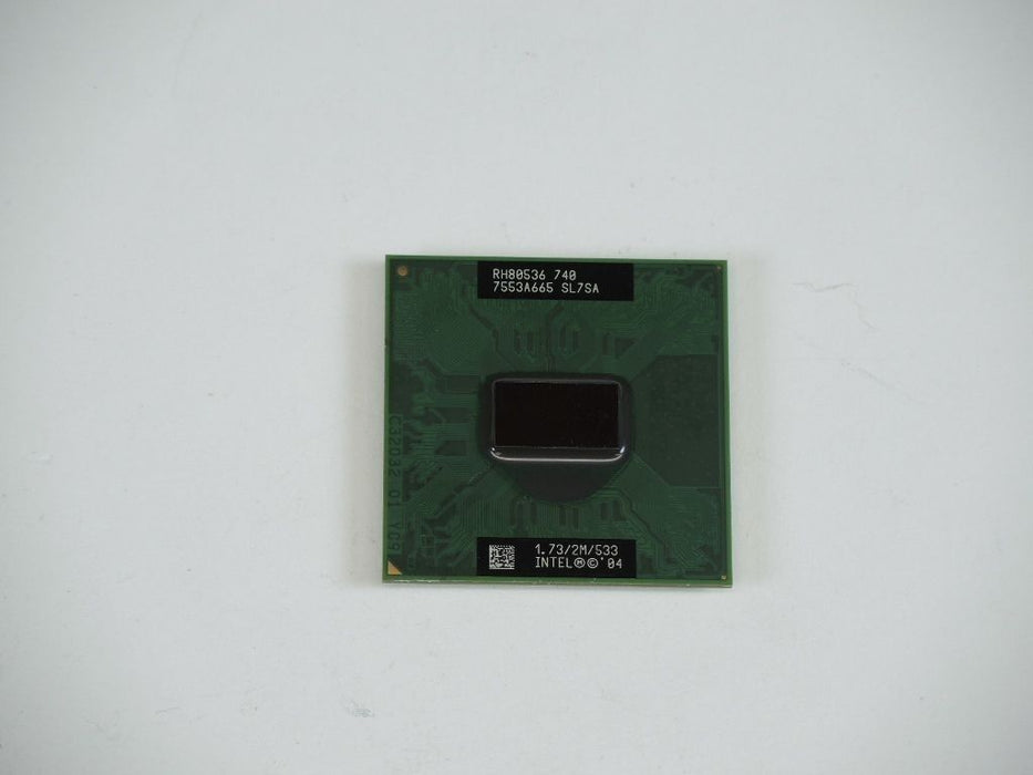 Intel Pentium M Dothan 740 1.733 GHz Laptop Processor CPU RH80536GE0302M SL7SA