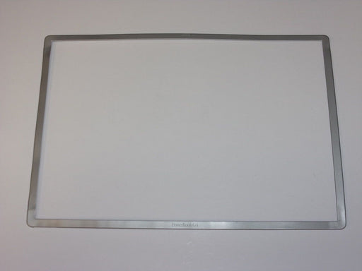 Apple PowerBook G4 A1001 LCD Front Bezel 15.2""