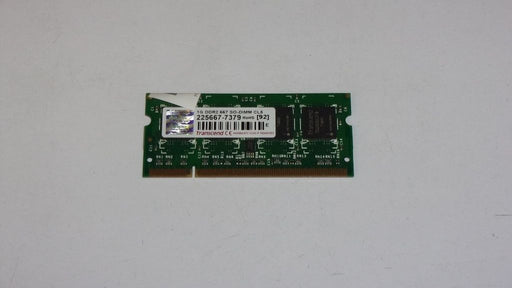 Transcend 1 GB PC2-5300 DDR2-667 667 MHz Laptop Memory RAM 225667-7379