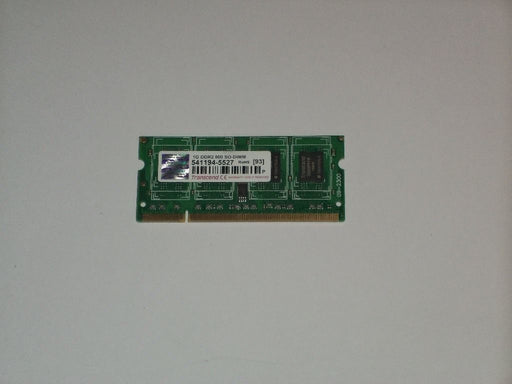 Transcend 1 GB PC2-6400 DDR2-800 800 MHz Laptop Memory RAM 541194-5539
