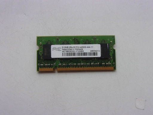 Aeneon 512 MB PC2-4200 DDR2-533 533MHz Laptop Memory Ram AET660SD00-370A98X