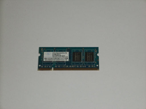 Nanya 512 MB PC2-4200 DDR2-533 533MHz Laptop Memory Ram NT512T64UH8A0FN-37B