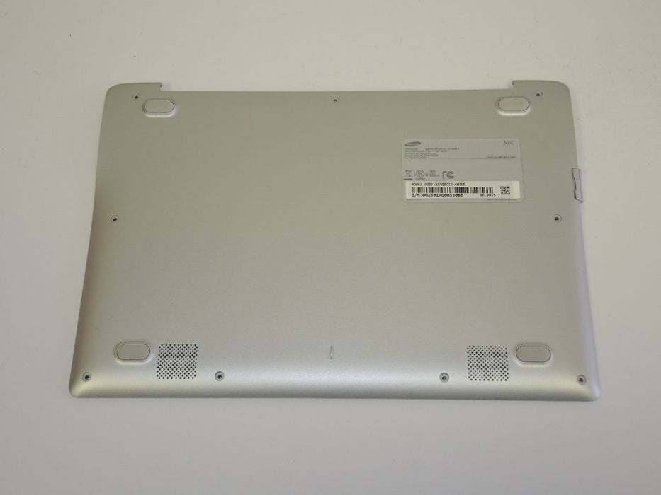 "Samsung Chromebook XE500C12 Laptop Bottom Case Silver BA98-00561A ""B"""