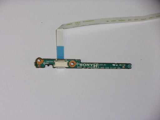 Sony Vaio VGN-S Series LED Wireless Switch Board w/ Cable LEX-61 1-862-528-11
