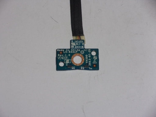 Dell Alienware 17 R1 LED Indicator Board w/Cable LS-9331P