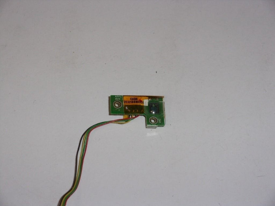 Apple PowerBook G4 A1046 Light Sensor Board W/Cable 820-1507-A