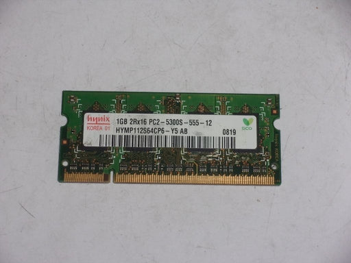 Hynix 1 GB PC2-5300 DDR2-667 667MHz Laptop Memory Ram HYMP112S64CP6-Y5