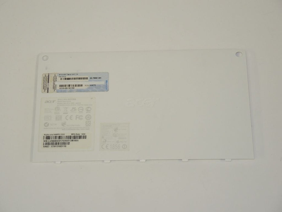 Acer Aspire One HAPPY Bottom Case Cover Door AP0F3000210