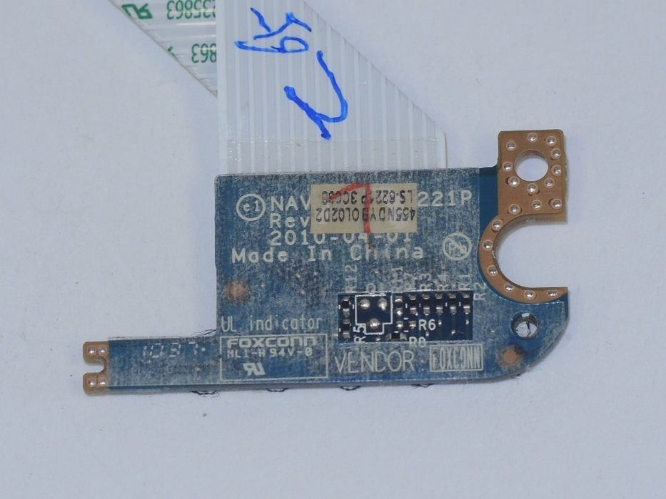 Acer Aspire One HAPPY LED Board w/cable LS-6221P