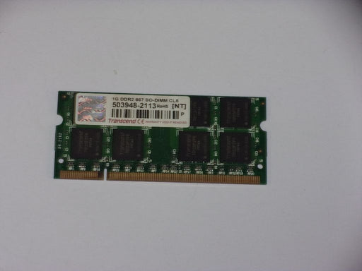 Transcend 1 GB PC2-5300 DDR2-667 667 MHz Laptop Memory RAM 503948-2113