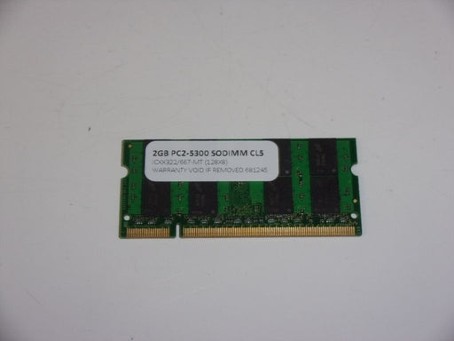 Ramjet 2 GB PC2-5300 DDR2-667 Laptop Memory RAM Sodimm ICXX322/667-MT