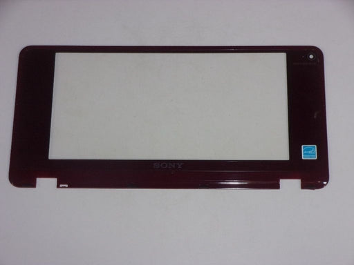 "Sony Vaio VGN-P Series LCD Front Bezel w/Webcam Port 8"" 4-121-664 Red"