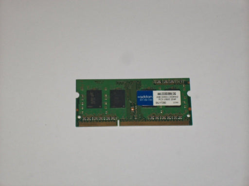 ADDON 2 GB PC3-10600 DDR3-1333 1333 MHz Laptop Memory RAM AA1333D3S9/2G