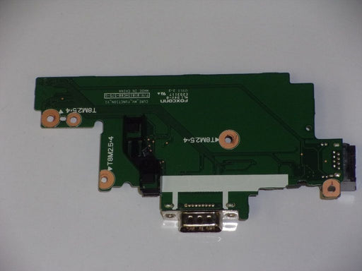 HP ProBook 6560B Ethernet Media Button VGA Port Board 01015HC00-575-G
