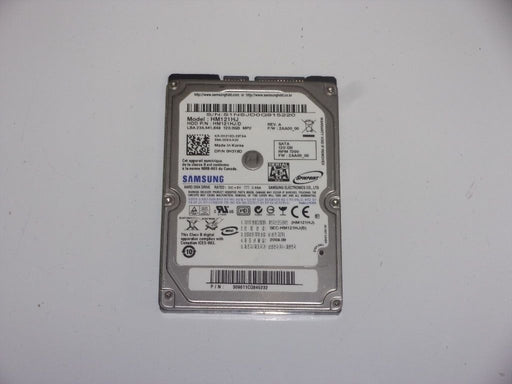 "Samsung 2.5"" SATA 120 GB 7200 RPM HDD Laptop Hard Drive HM121HJ"