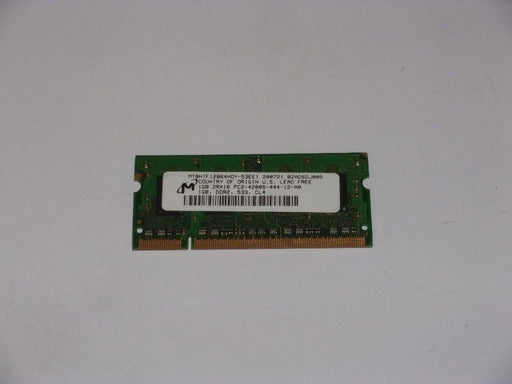 Micron 1 GB PC2-4200 DDR2-533 533MHz Laptop Memory Ram MT8HTF12864HDY-53EE1