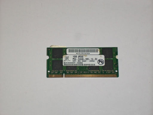 Netlist 1 GB PC2-5300 DDR2-667 667MHz Laptop Memory Ram NL8126426407F-D53MIB