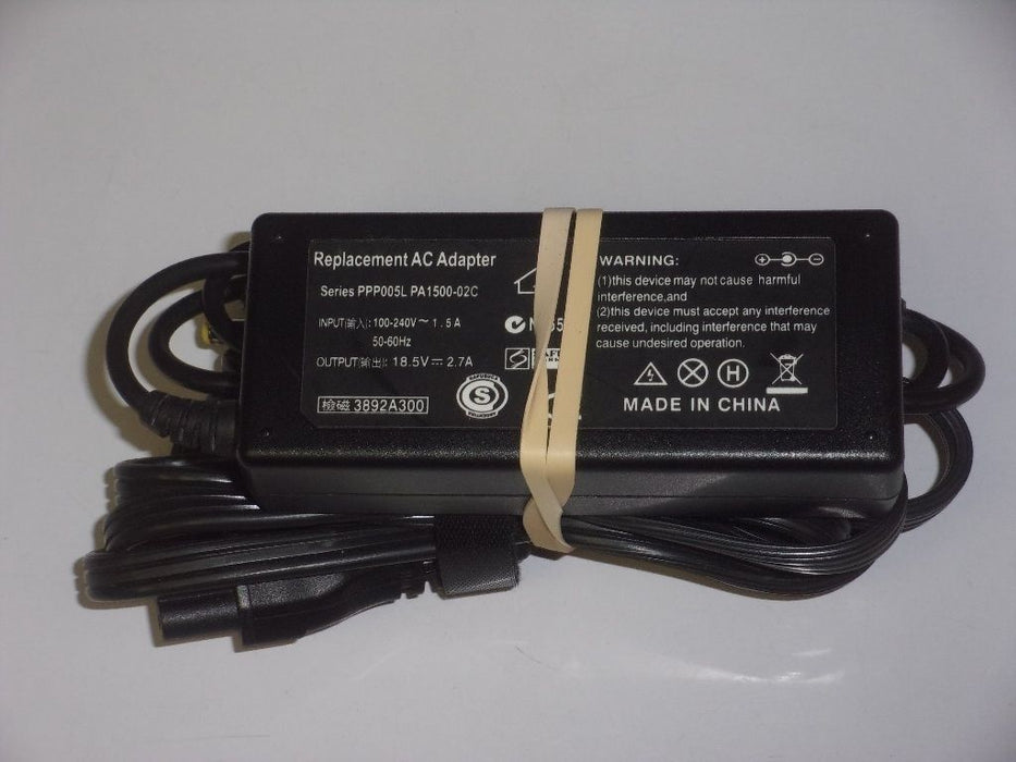 HP 18.5V Replacement Laptop AC Adapter PPP005L PA15002C