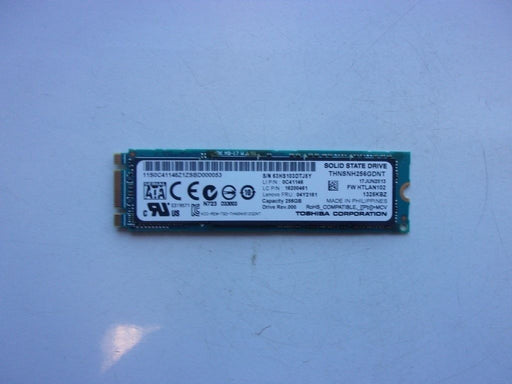 Toshiba M.2 PCIE 256 GB SSD Laptop Solid State Drive THNSNH256GDNT