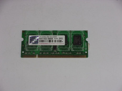 Transcend 1 GB PC2-6400 DDR2-800 800 MHz Laptop Memory RAM 541182-5668