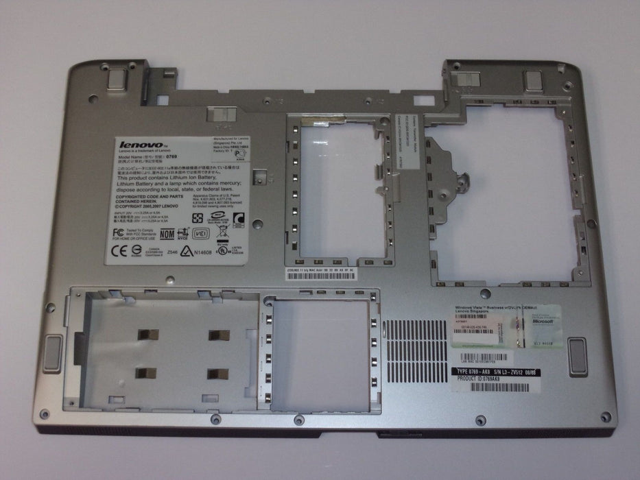 Lenovo 3000 N200 Bottom Case AP01D000D00