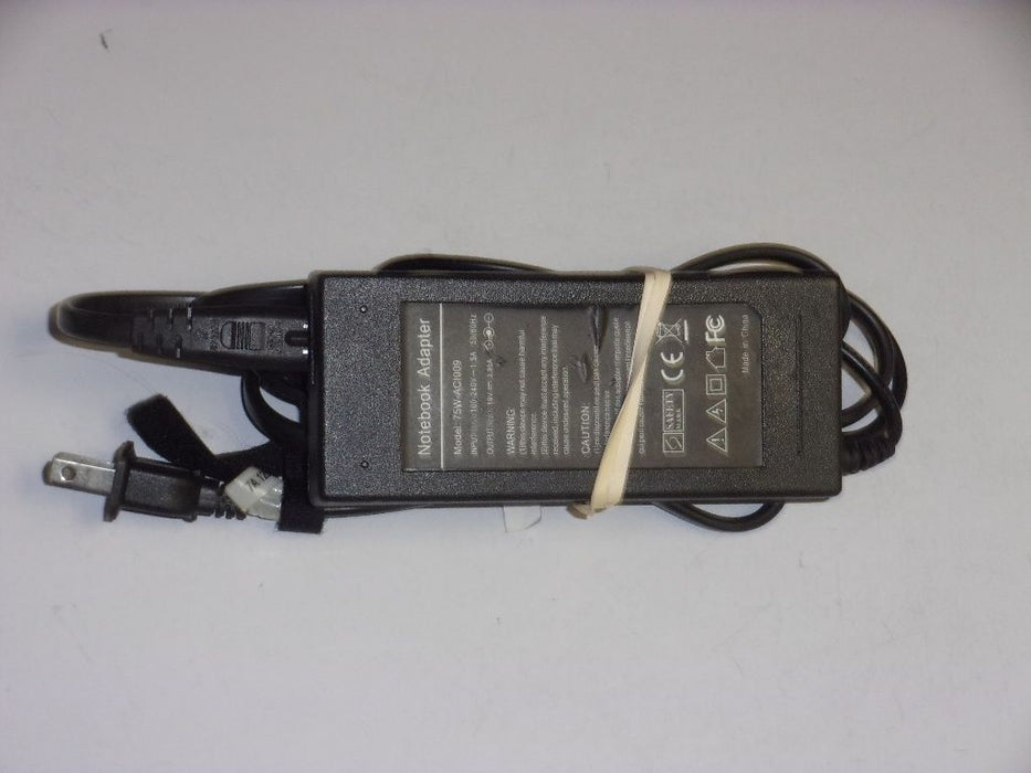 Toshiba 19v Replacement AC Adapter 75W-ACI009