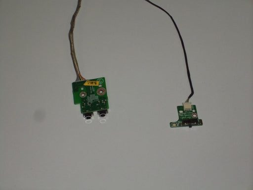 Dell Inspiron 1720 Audio Port Wireless Switch Board W/cable MR605 MR606