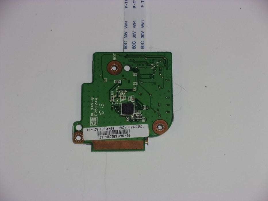 Asus Eee PC 1005P Card Reader Board w/Cable 60-OA1LCR2000-A01 69NA1LC11A01-01 - Discountedlaptopparts